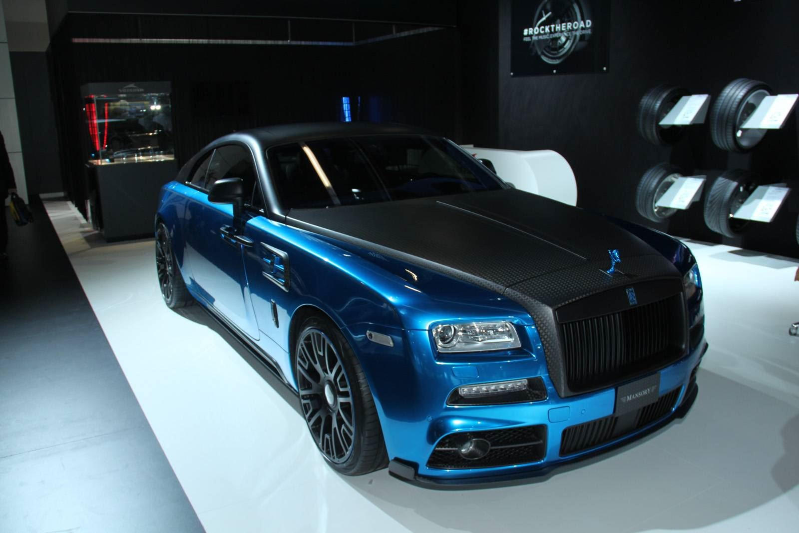 Mansory S Rolls Royce Wraith Is A Ridiculously Gorgeous Beast Carbuzz