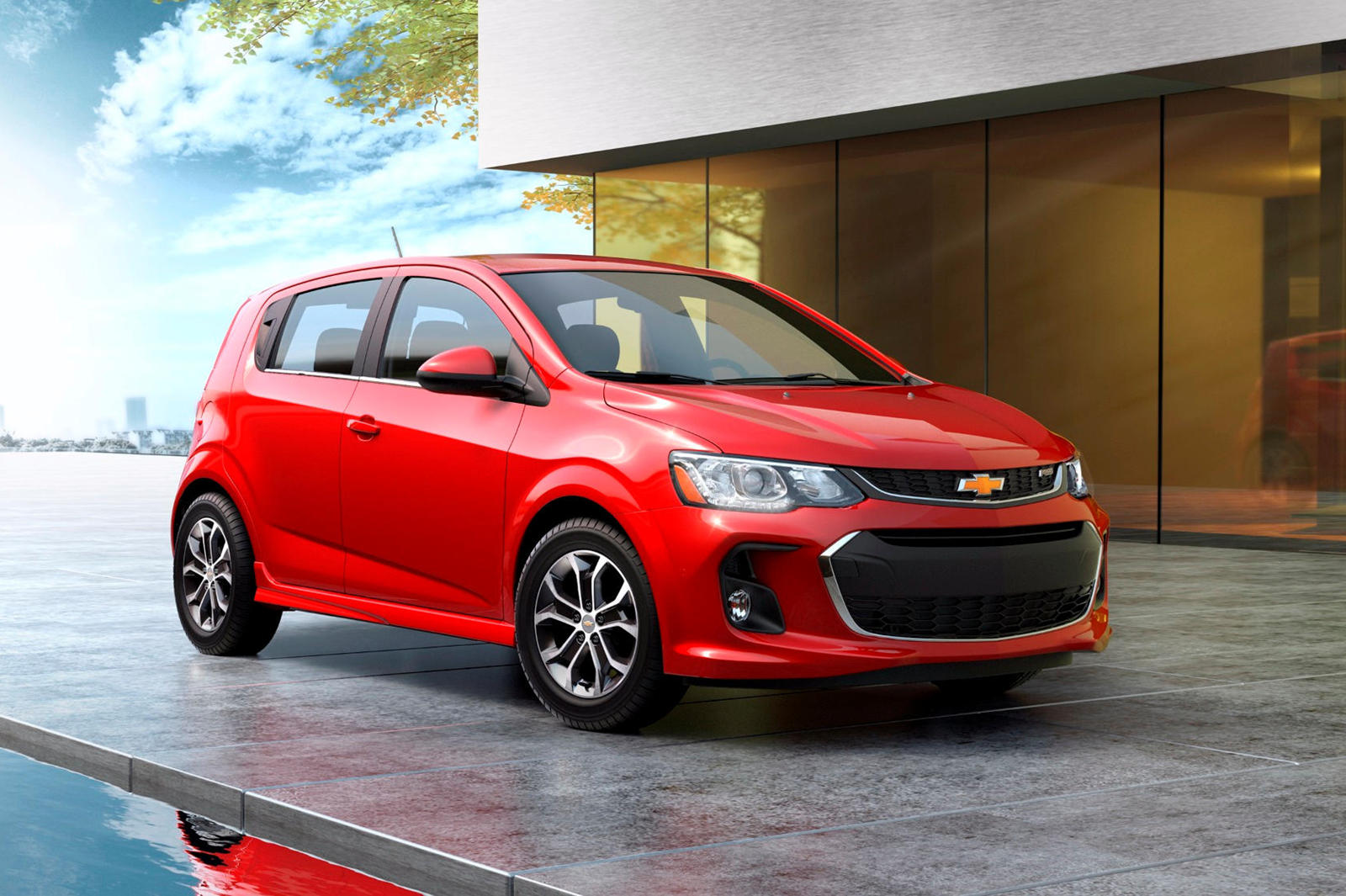 2020 Chevy Sonic Exterior and Interior