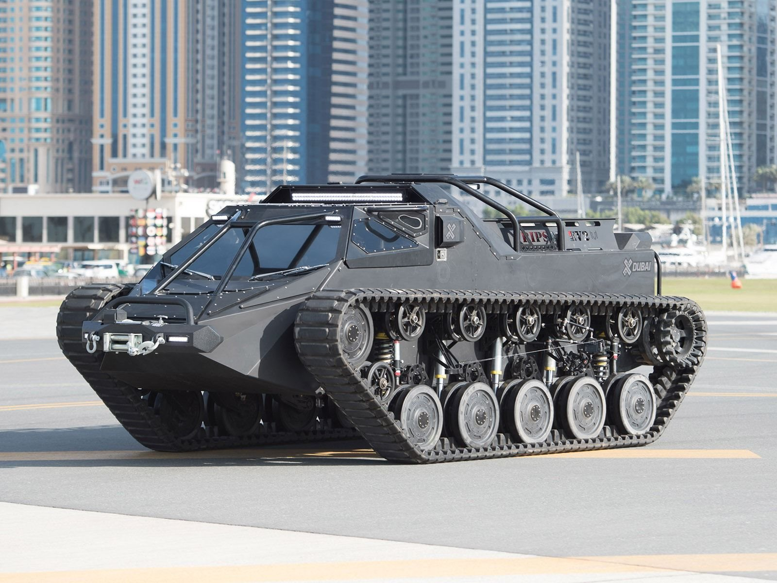 Ripsaw Ev2 Price >> This Is The World S Fastest Luxury Super Tank Carbuzz