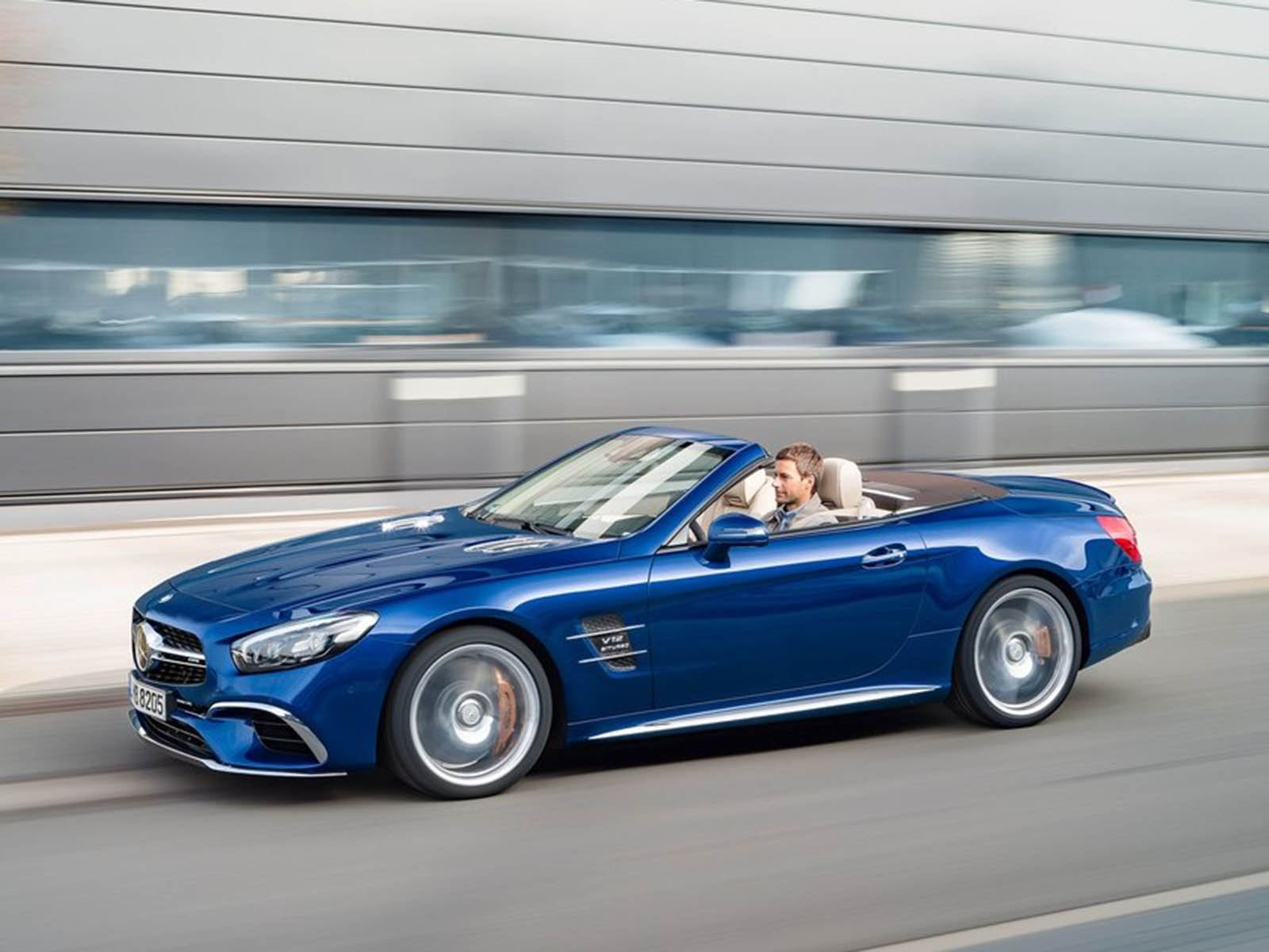 The Next Generation Mercedes SL Will Be A Very Different Car | CarBuzz