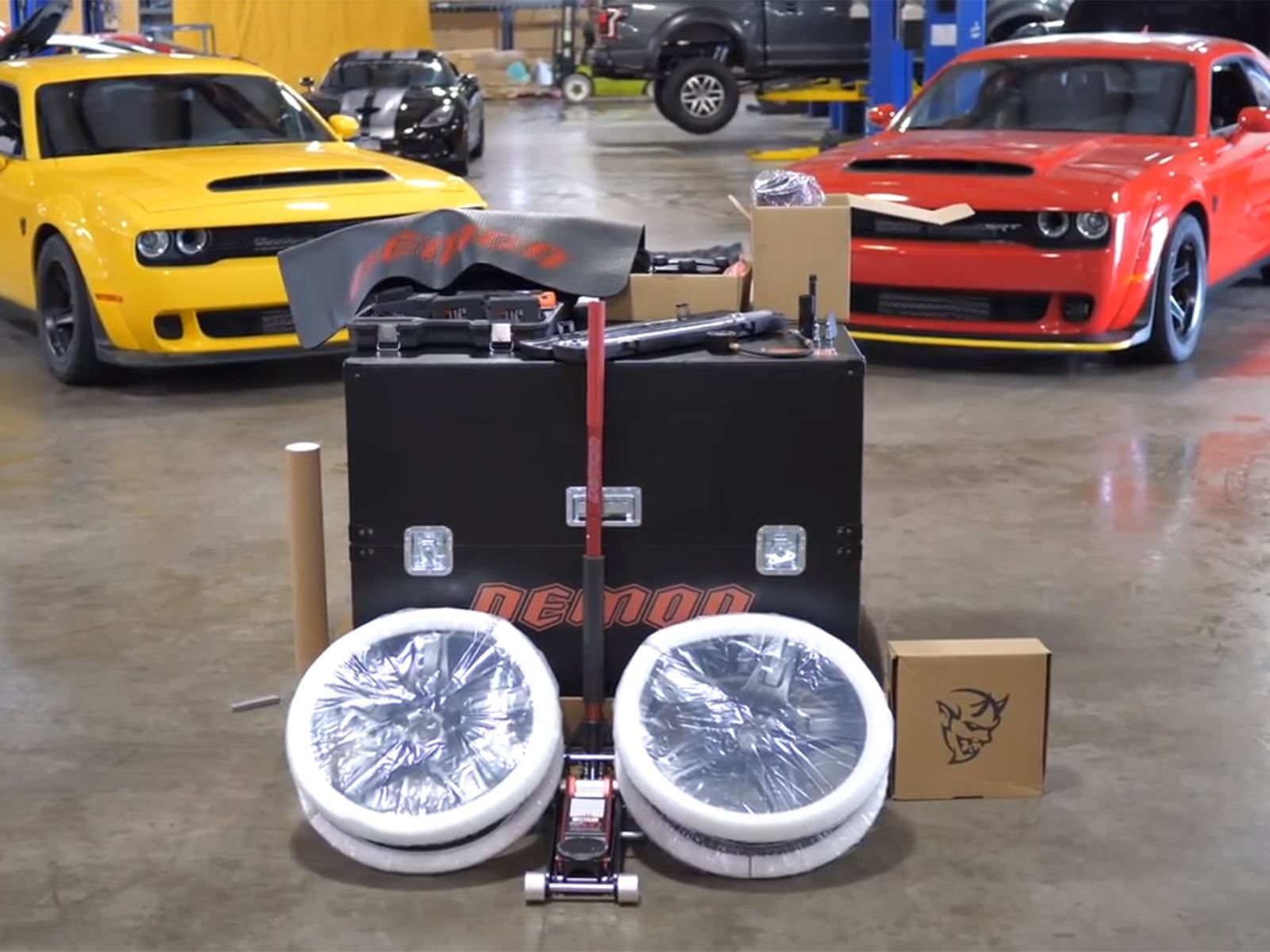 Dodge Demon Crate Makes For The Best Car-Enthusiast Unboxing