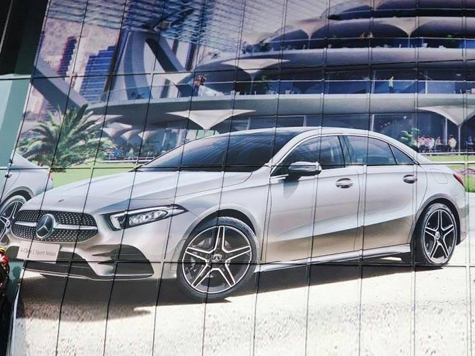 This Is The Mercedes A Class Sedan Before You Re Supposed To See It Carbuzz