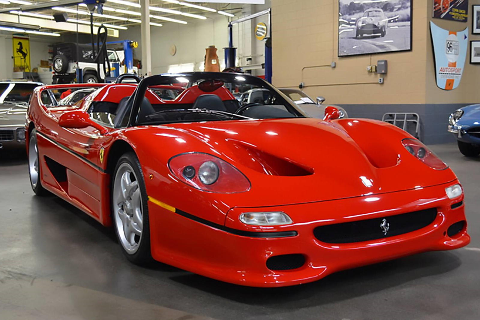Would You Like To Own The First Ferrari F50 Ever Made Carbuzz
