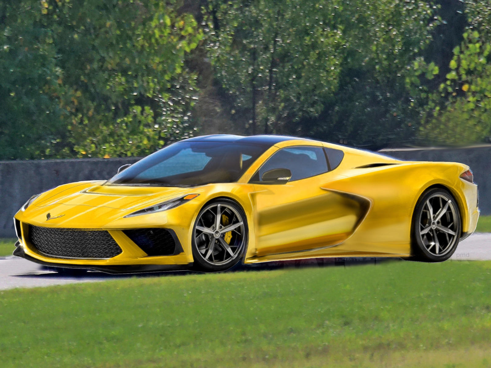 This Is The Best 2020 Mid Engine C8 Corvette Rendering So