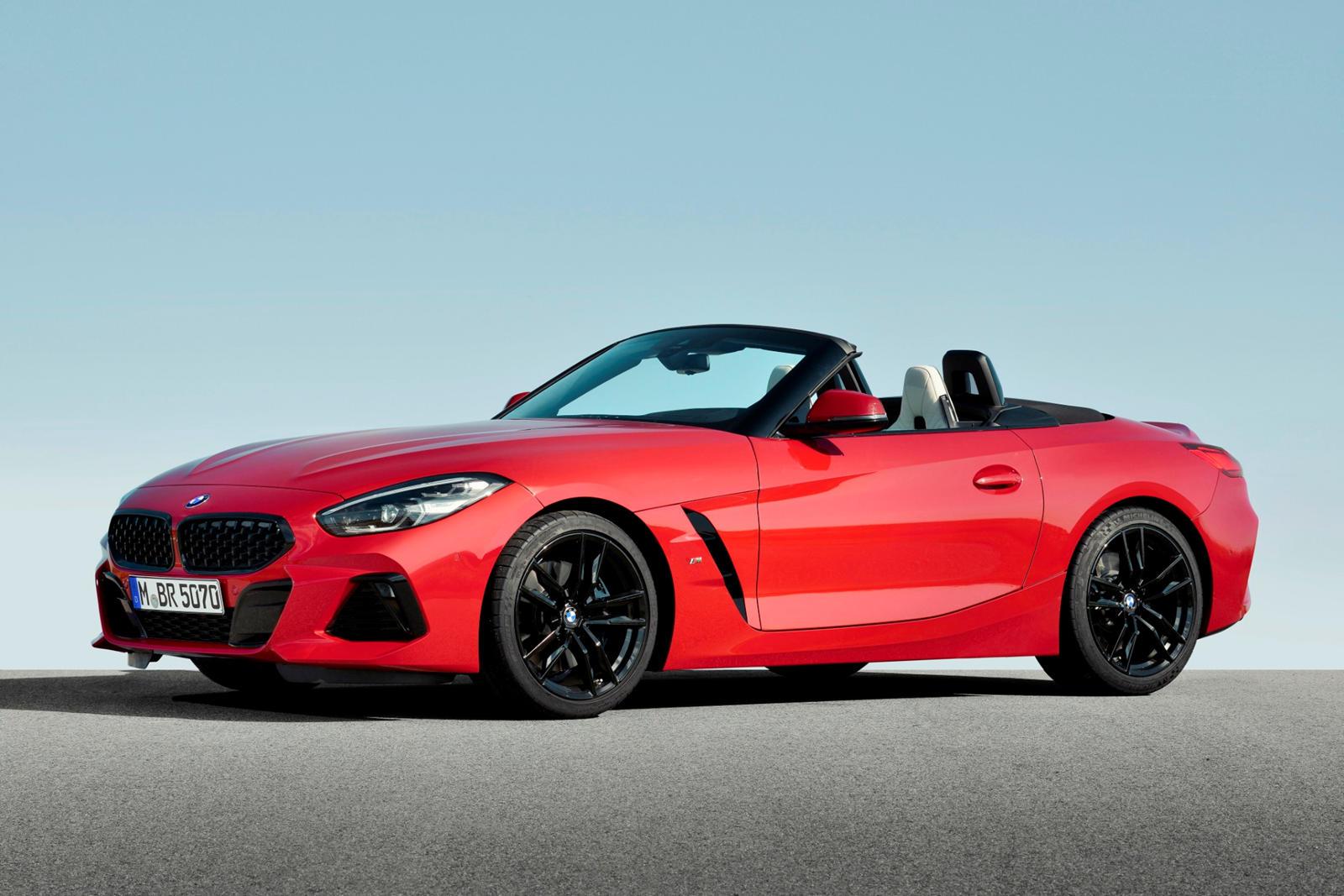 2020 BMW Z4 Roadster Speed Test