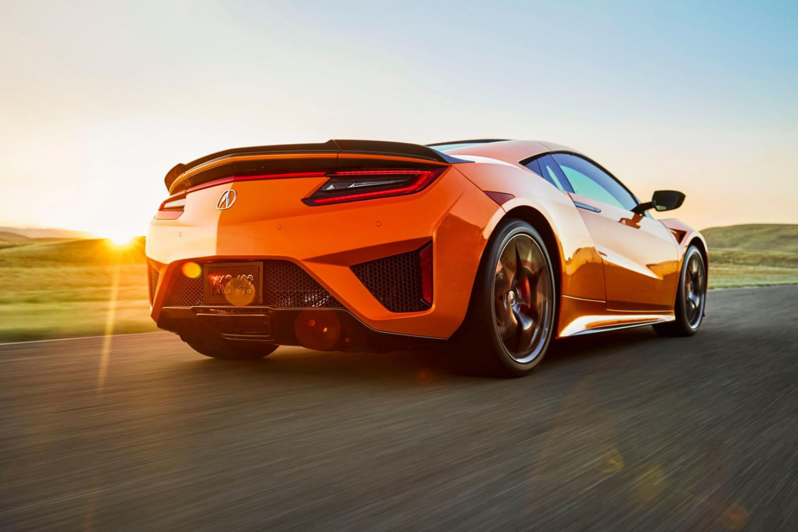 2019 Acura NSX Refreshed With New Shade Of Orange (And ...