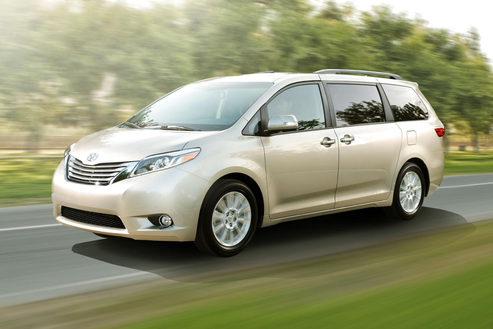 Self-Driving Toyota Sienna Minivan To Hit The Streets In ...