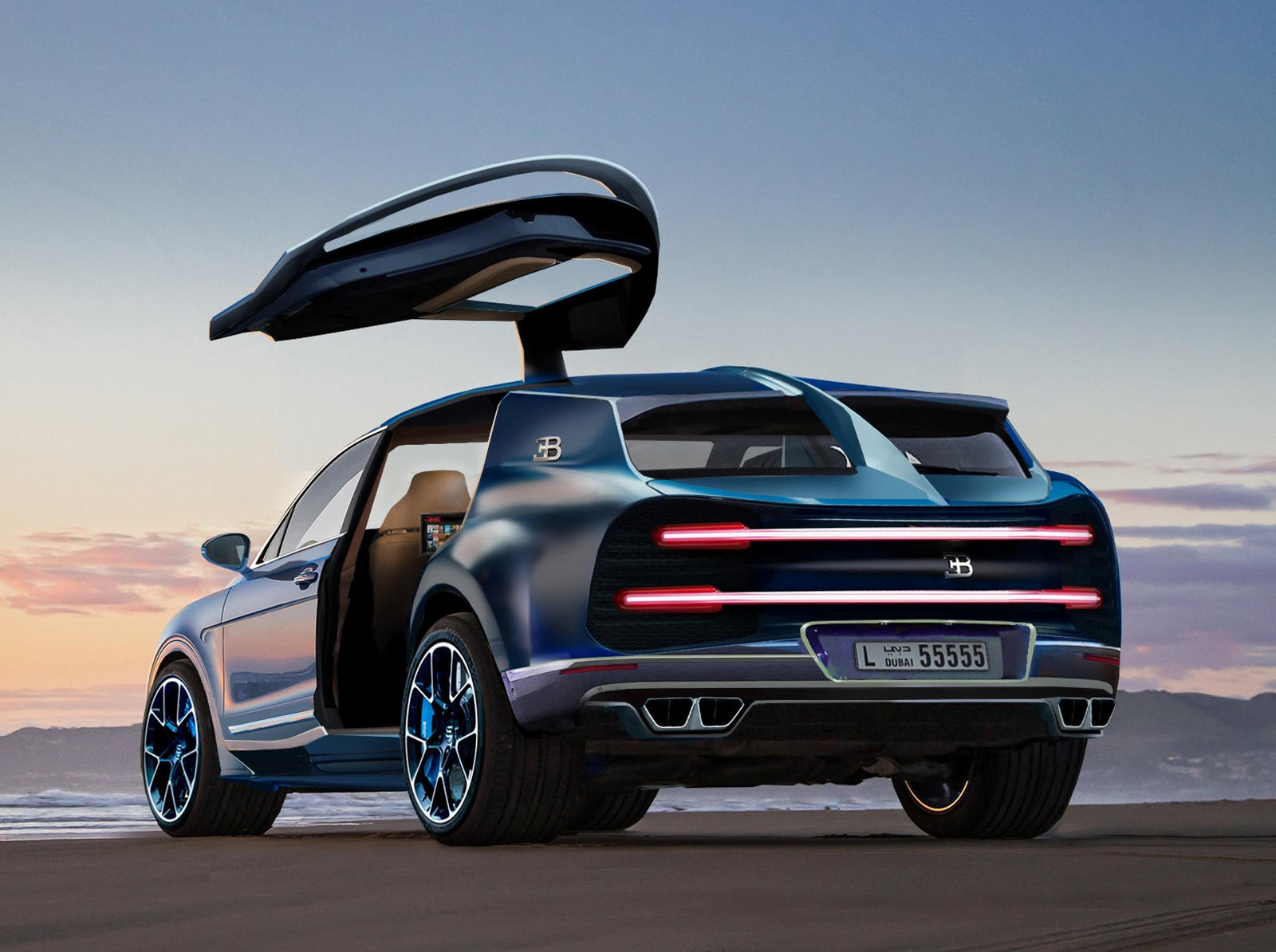 Get Ready For A Hyper Suv Based On The Bugatti Chiron Carbuzz