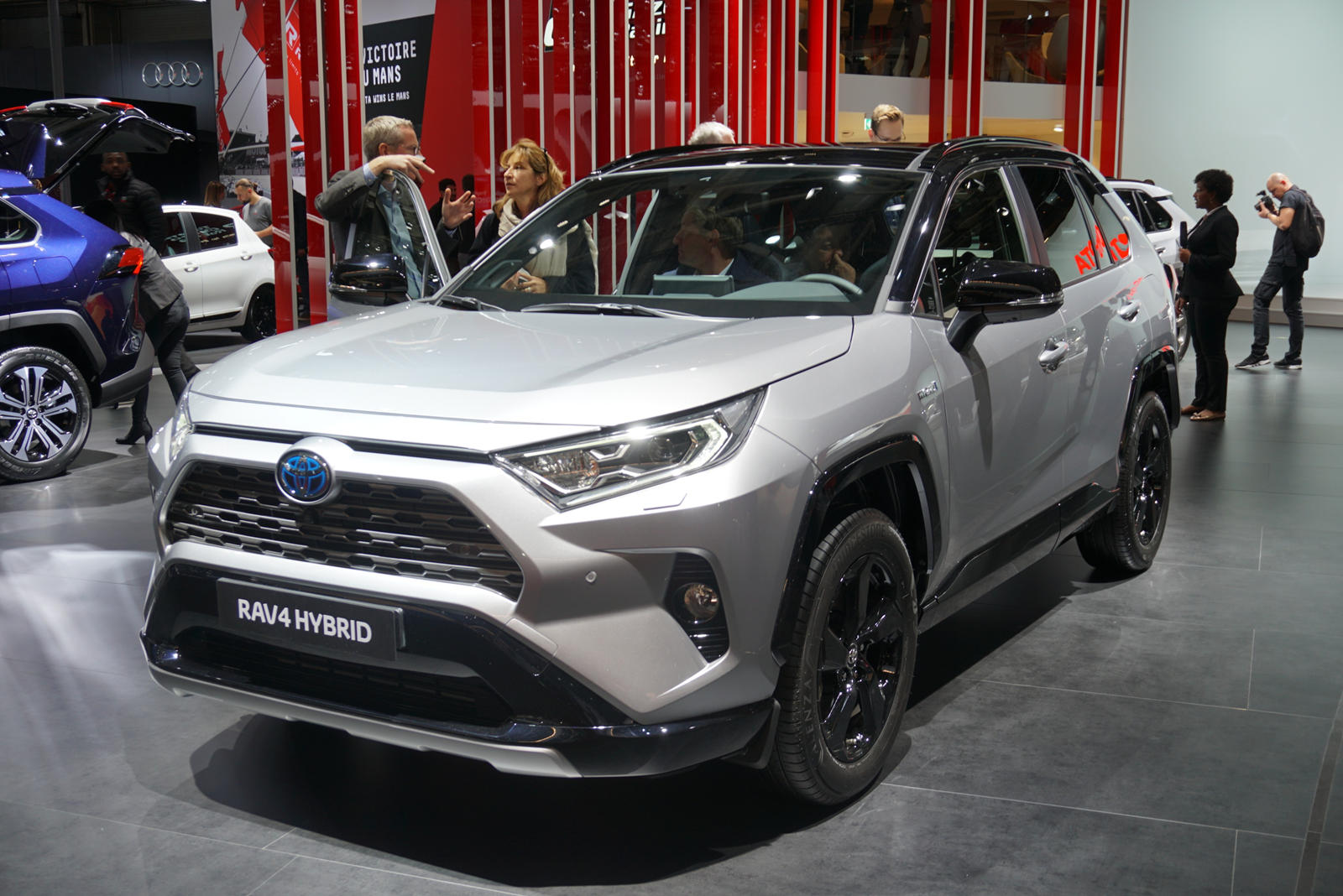 2019 toyota rav4 chief engineer gas station trips every. Black Bedroom Furniture Sets. Home Design Ideas