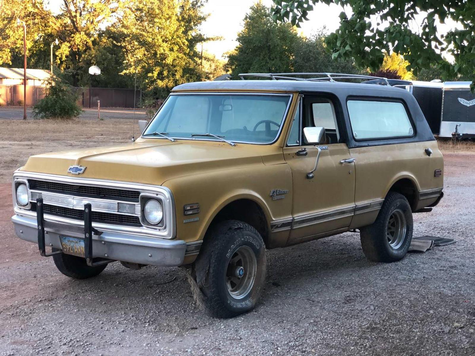 Weekly Craigslist Hidden Treasure 1970 Chevrolet Cst Blazer 4x4