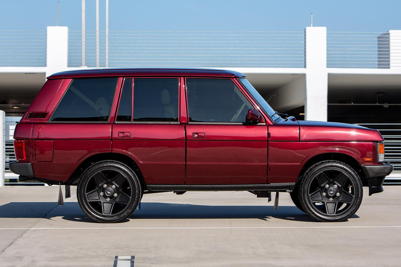 This Range Rover Classic Restomod Packs A Much Bigger V8