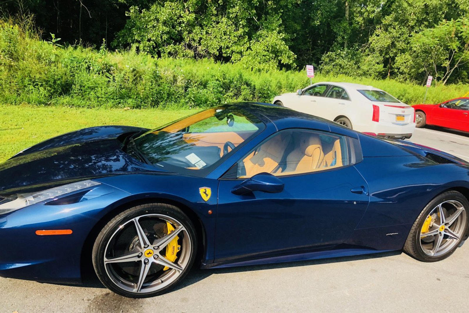 Ferrari 458 Spider Loses 140 000 In Value After 4 Hours In Garage Carbuzz