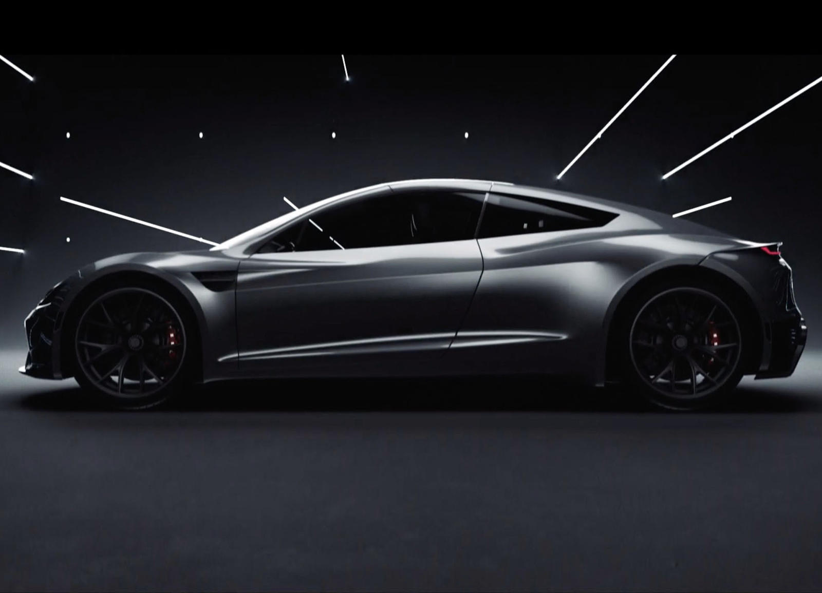 Not Even Musk Knew The 2020 Tesla Roadster Could Look This