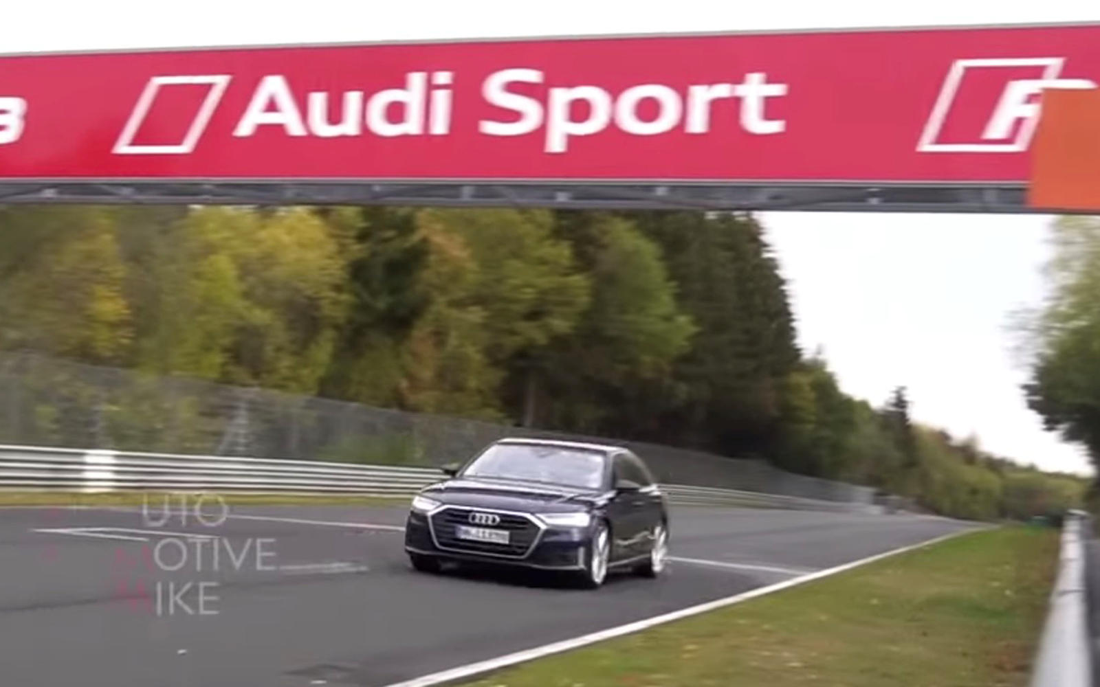 Audi S8 Spied Lurking Near the Nurburgring » AutoGuide.com