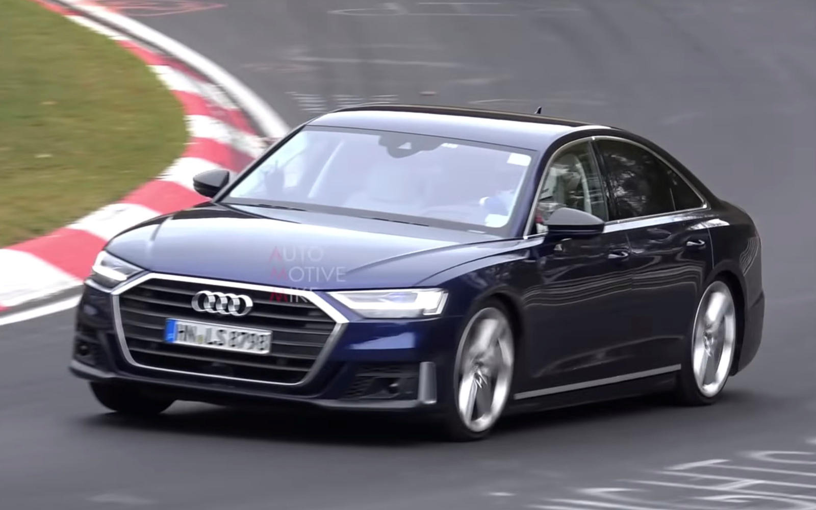 2020 Audi S8 Runs Buck Naked Around The Ring Carbuzz
