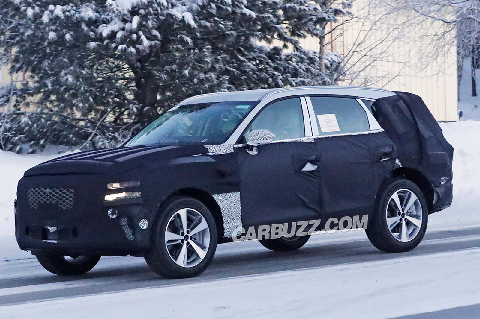 Here S A First Look At The Genesis Gv80 Luxury Suv Carbuzz