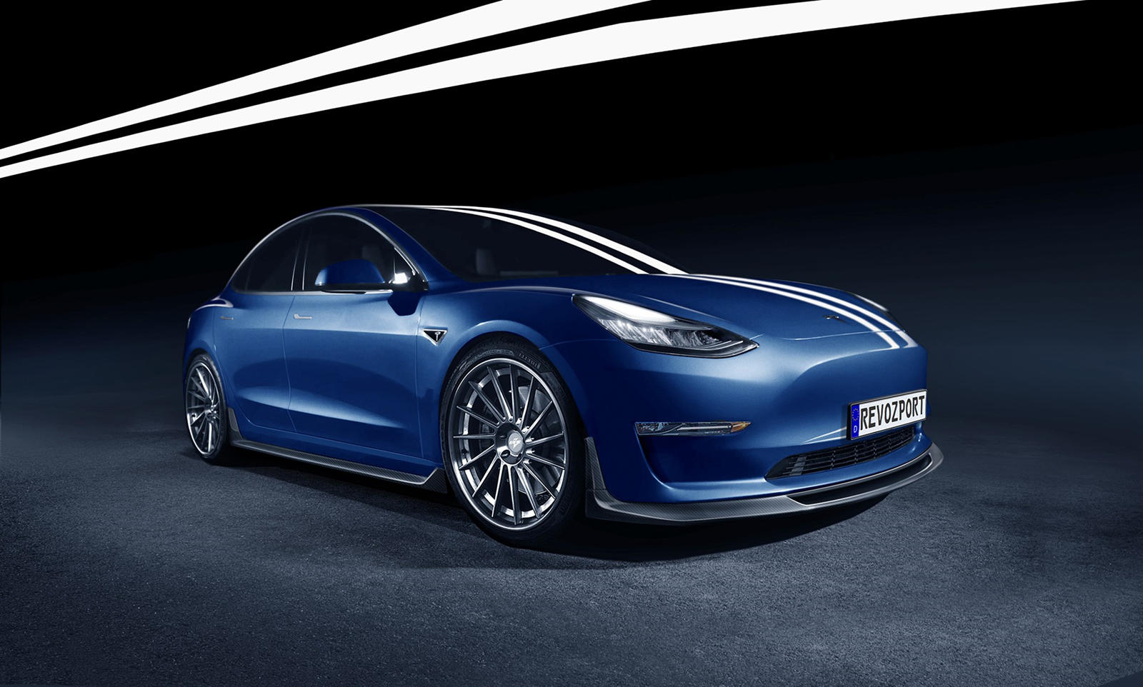 Tesla Model 3 Gets A Whole New Look Carbuzz