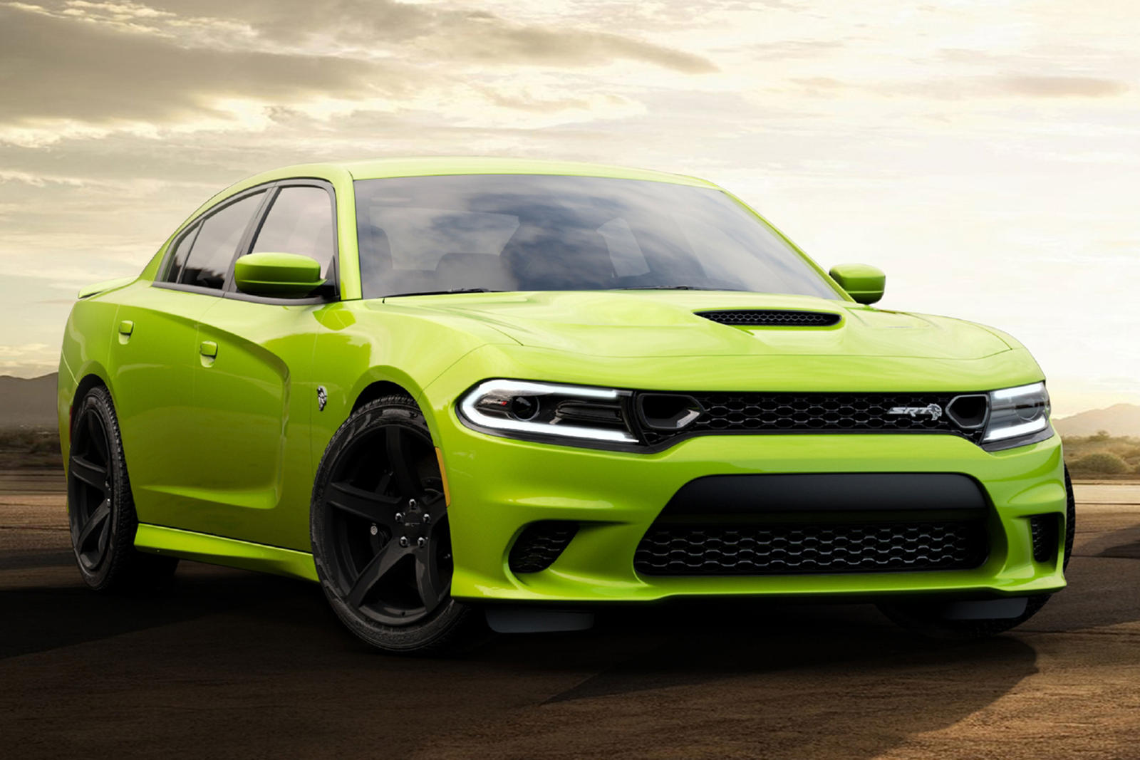 Dodge Charger And Challenger Look Sublime In Bright Green Carbuzz