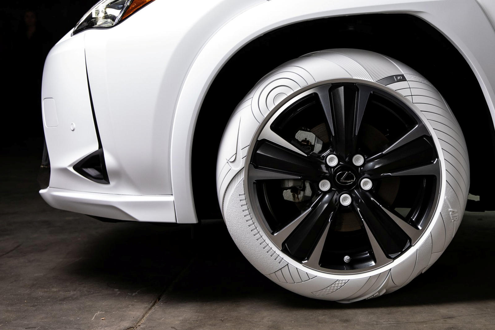 Unique Lexus UX Wears Tires Inspired By