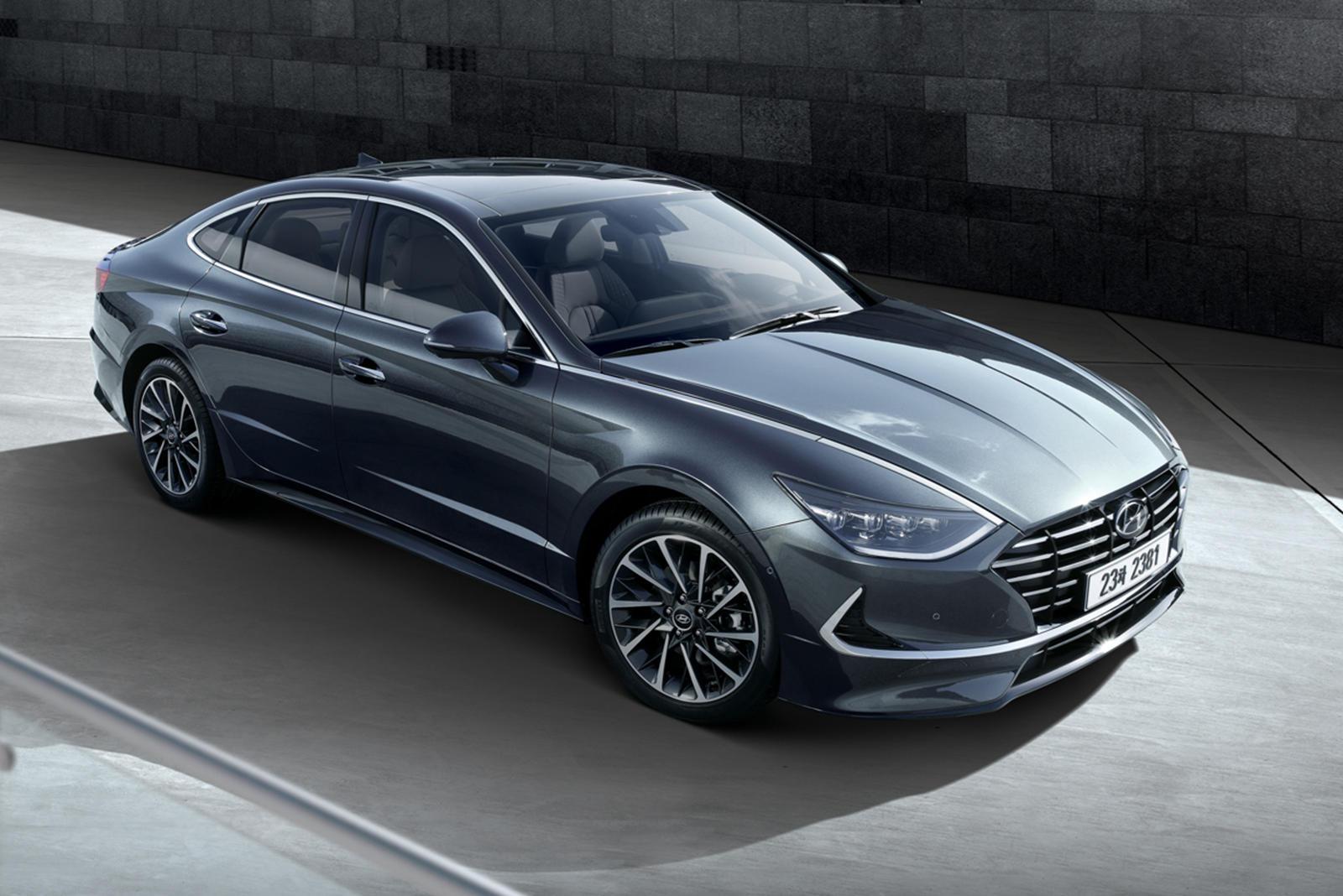 2020 Hyundai Sonata Revealed With Sleek New Design | CarBuzz
