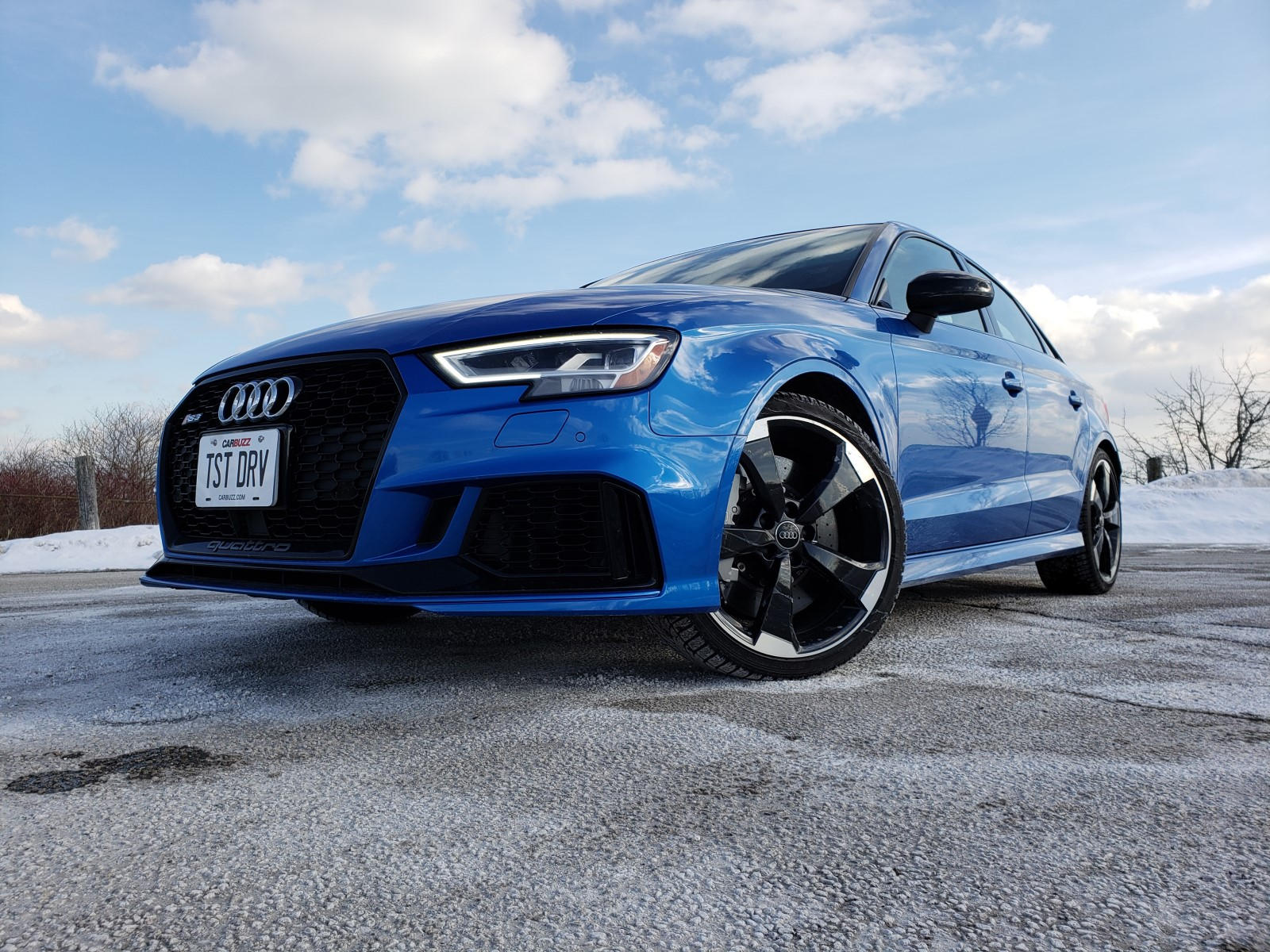 2019 Audi RS3 Test Drive Review: Four Doors, One Ripping ...