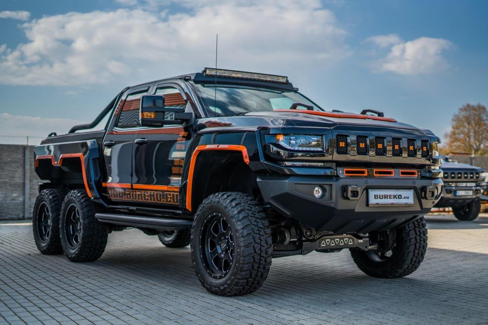 Meet The Bureko A Chevy Silverado 6x6 With 1 200 Hp Carbuzz