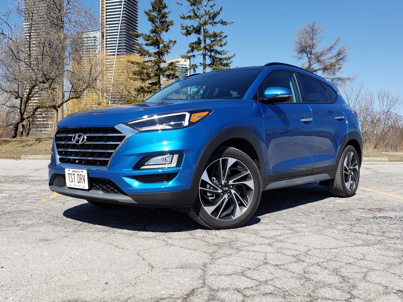 2019 Hyundai Tucson: Refreshed, Styling, Price >> 2019 Hyundai Tucson Test Drive Review A Value Stand Out