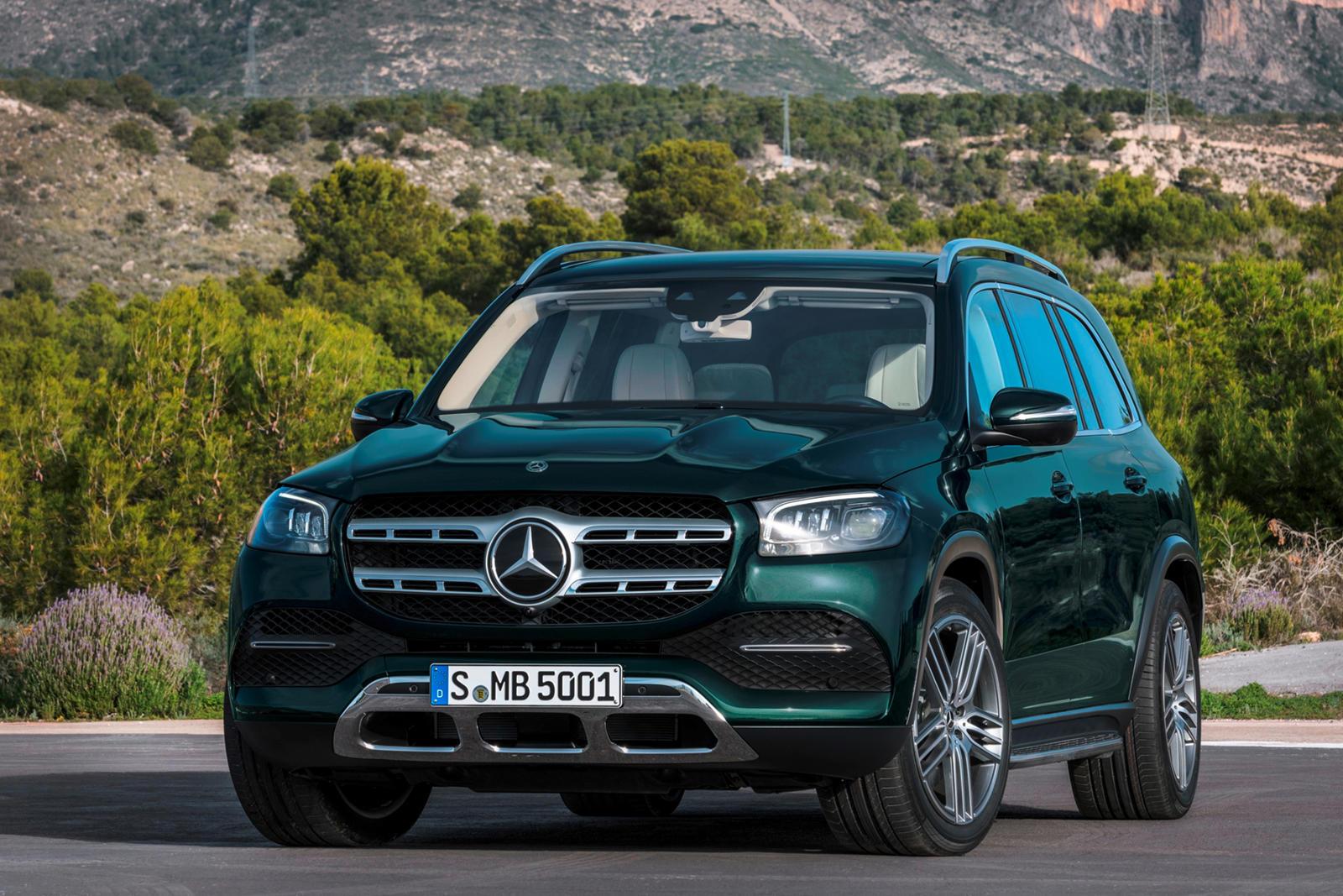 2020 Mercedes-Benz GLS-Class SUV Trims & Specs   CarBuzz