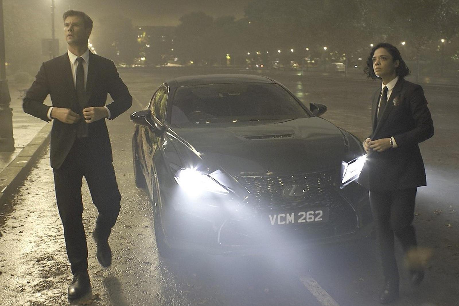 78d0f218570 2020 Lexus RC F Will Star In Men In Black  International