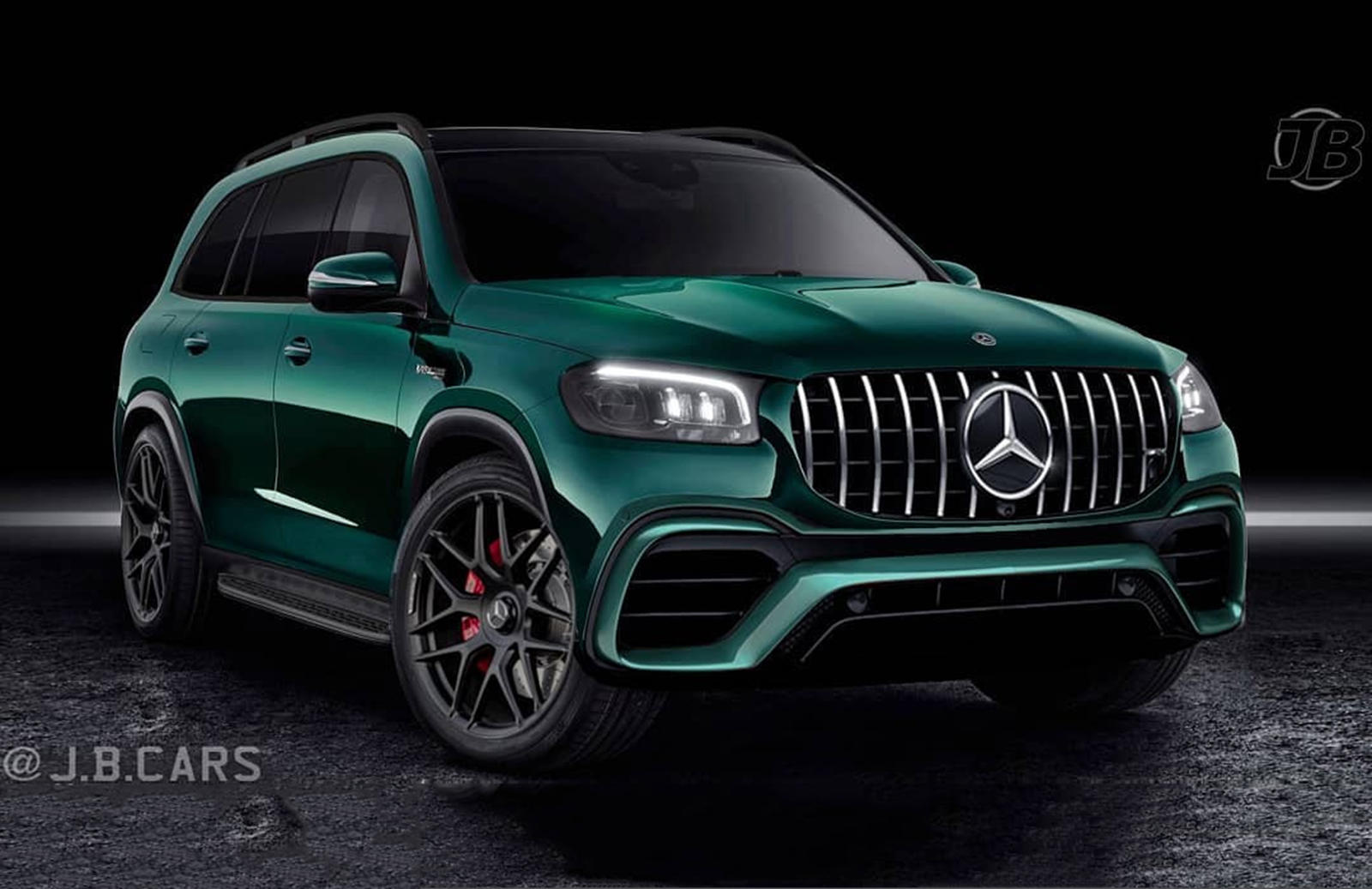 New Mercedes-AMG GLS 63 Will Be One Mean-Looking SUV | CarBuzz