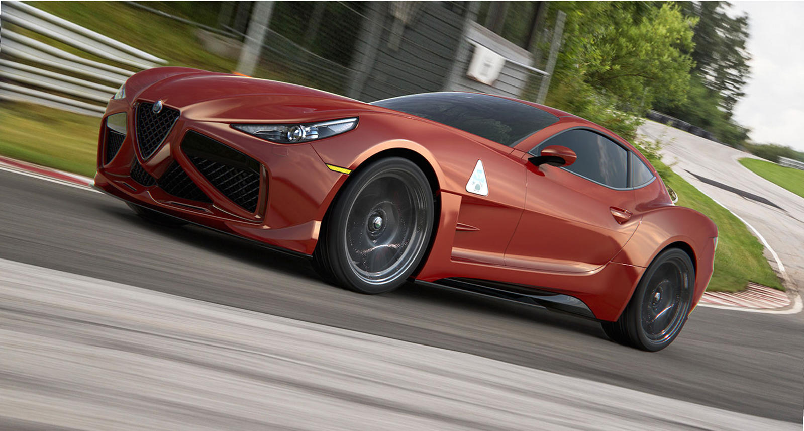 This Could Be Italy's Answer To The Toyota Supra