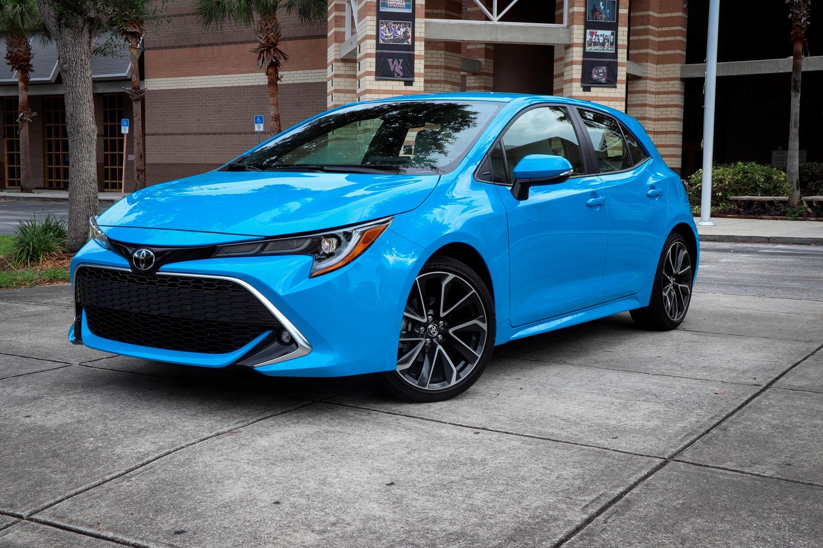 2020 Toyota Corolla Hatchback Specs