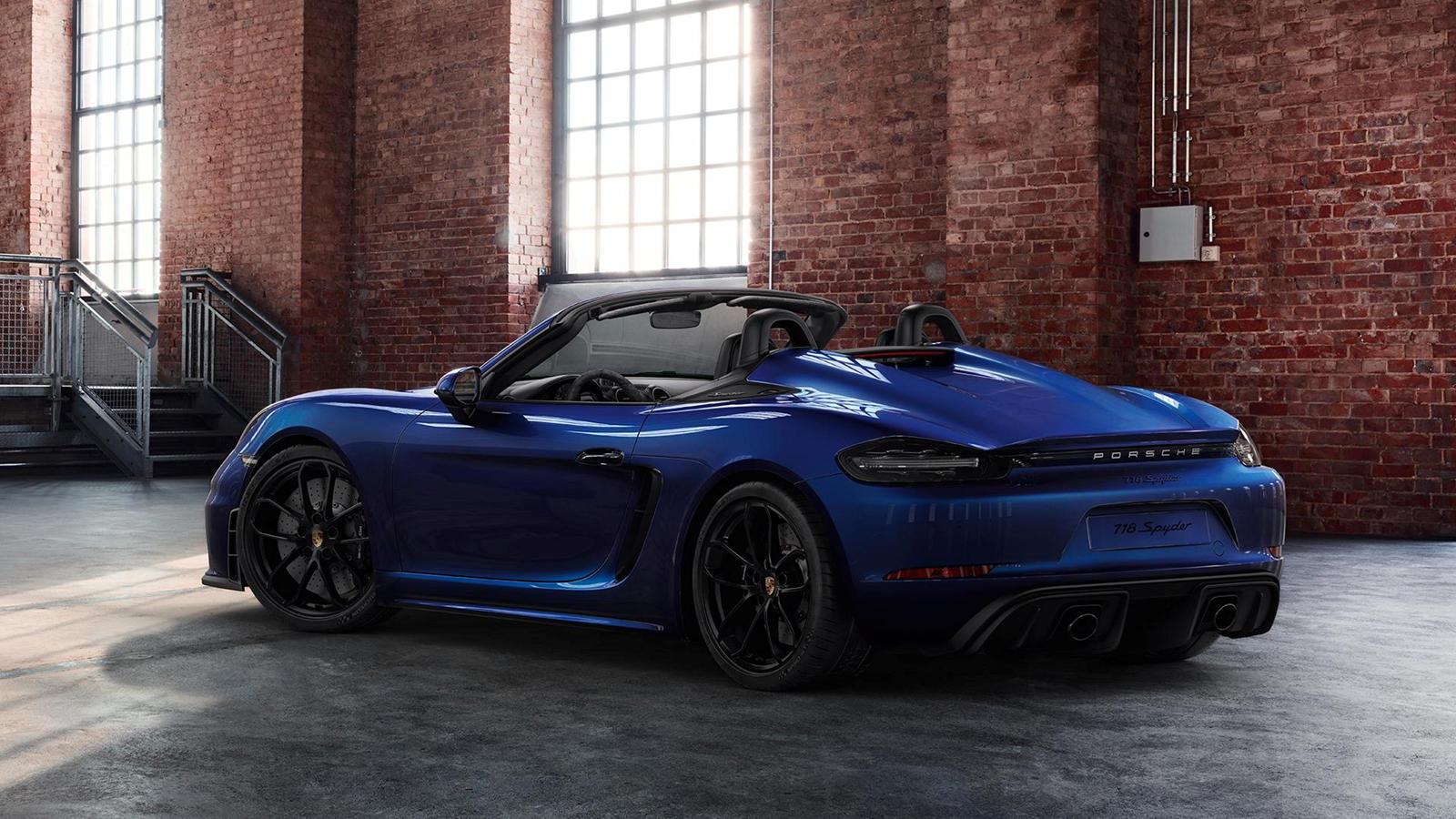 Porsche Shows Off Exclusive 718 Spyder