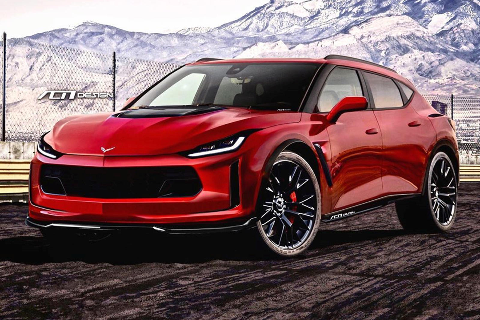 What If Chevrolet Made A Corvette SUV?