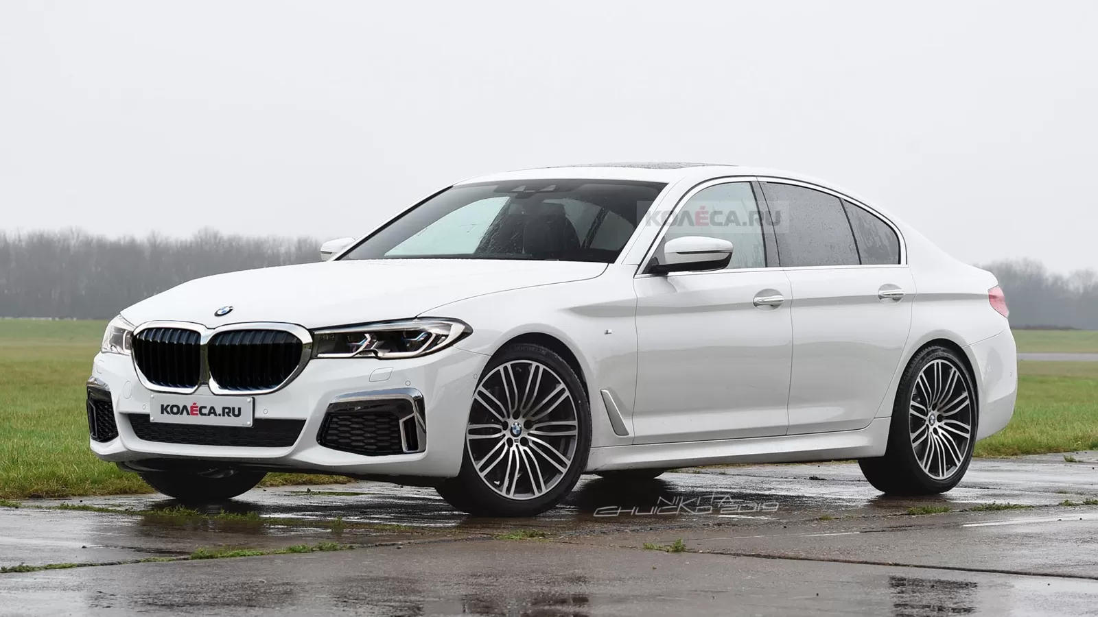 Expect The 2020 BMW 5 Series Facelift To Look Like This   CarBuzz