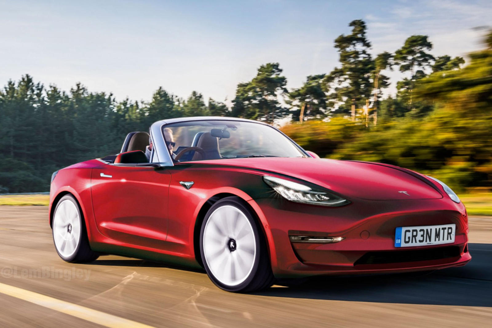 This Tesla Roadster Could Be The Mazda Miata's Worst Nightmare
