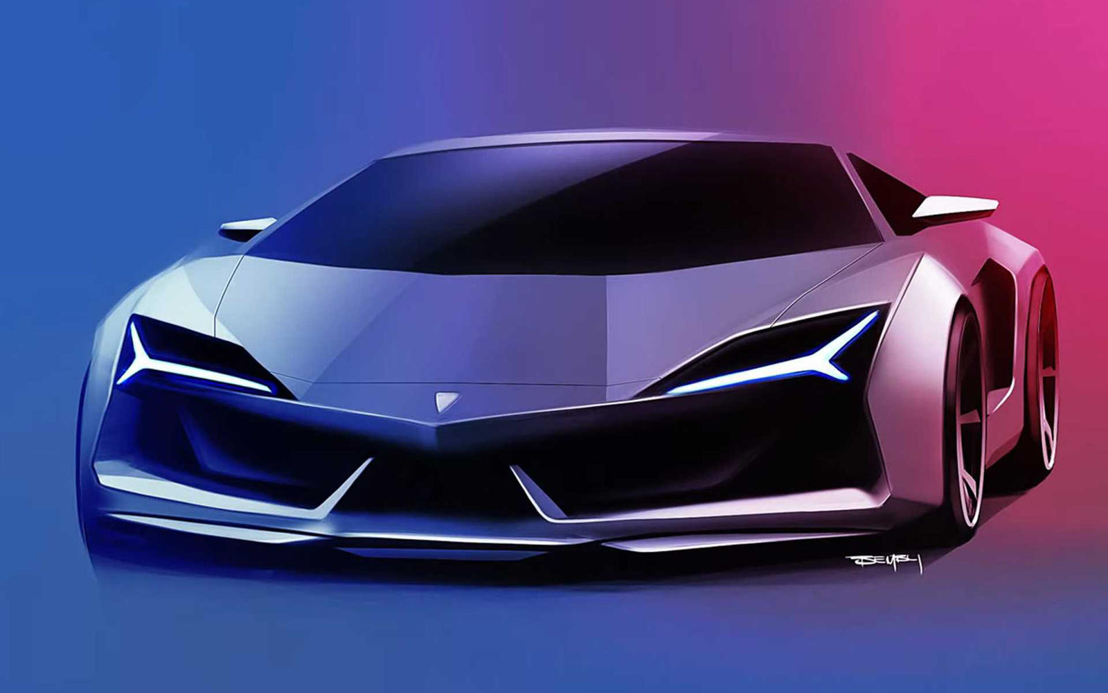 Next-Generation Lamborghini Aventador Could Look Like This | CarBuzz