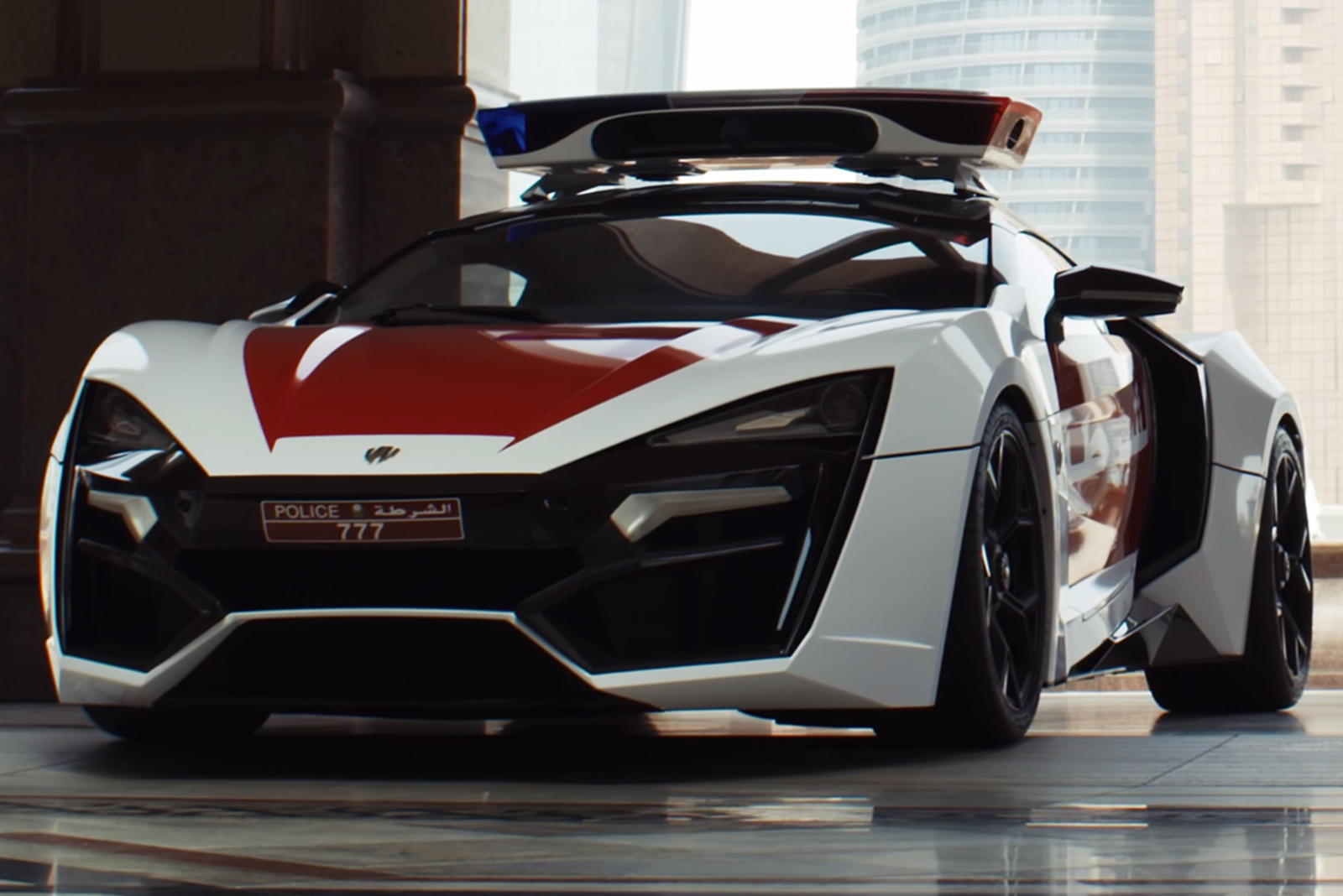 3 4 Million Hypercar Joins Abu Dhabi Police Force Carbuzz