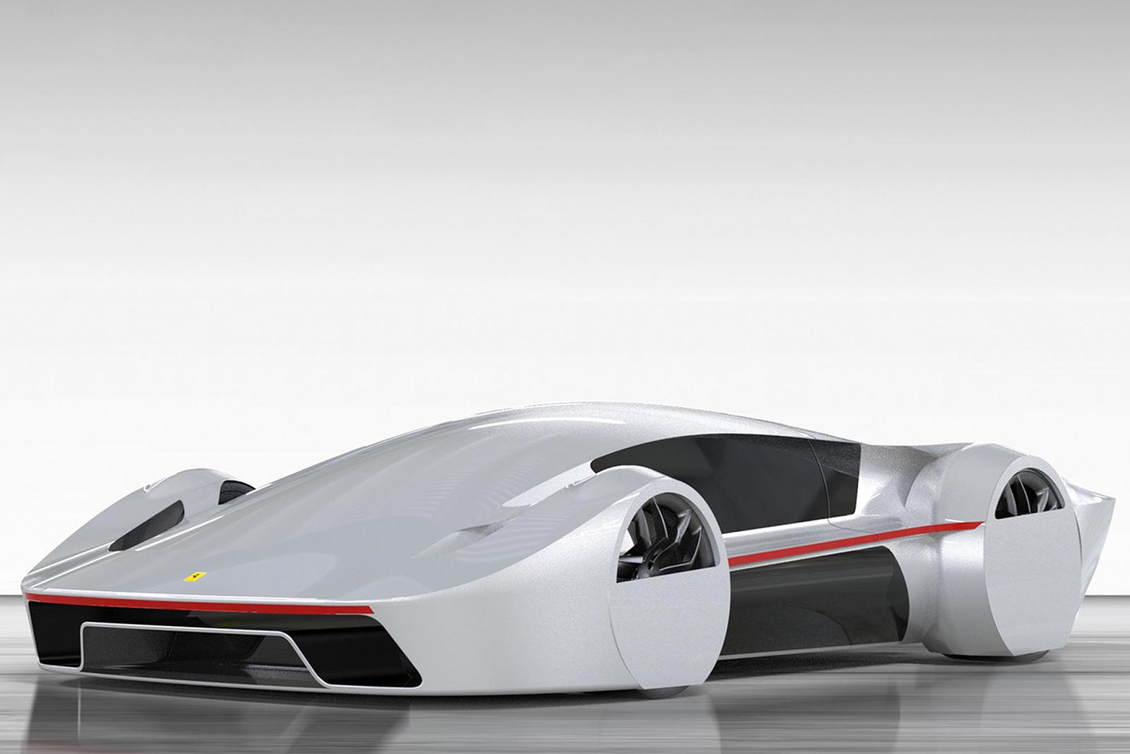 This Retro Inspired Ferrari Concept Needs To Happen Carbuzz