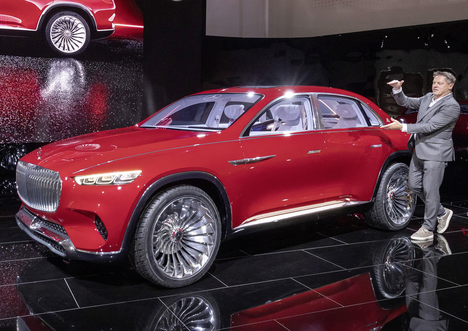 Maybach SUV Coming Even Sooner Than Expected