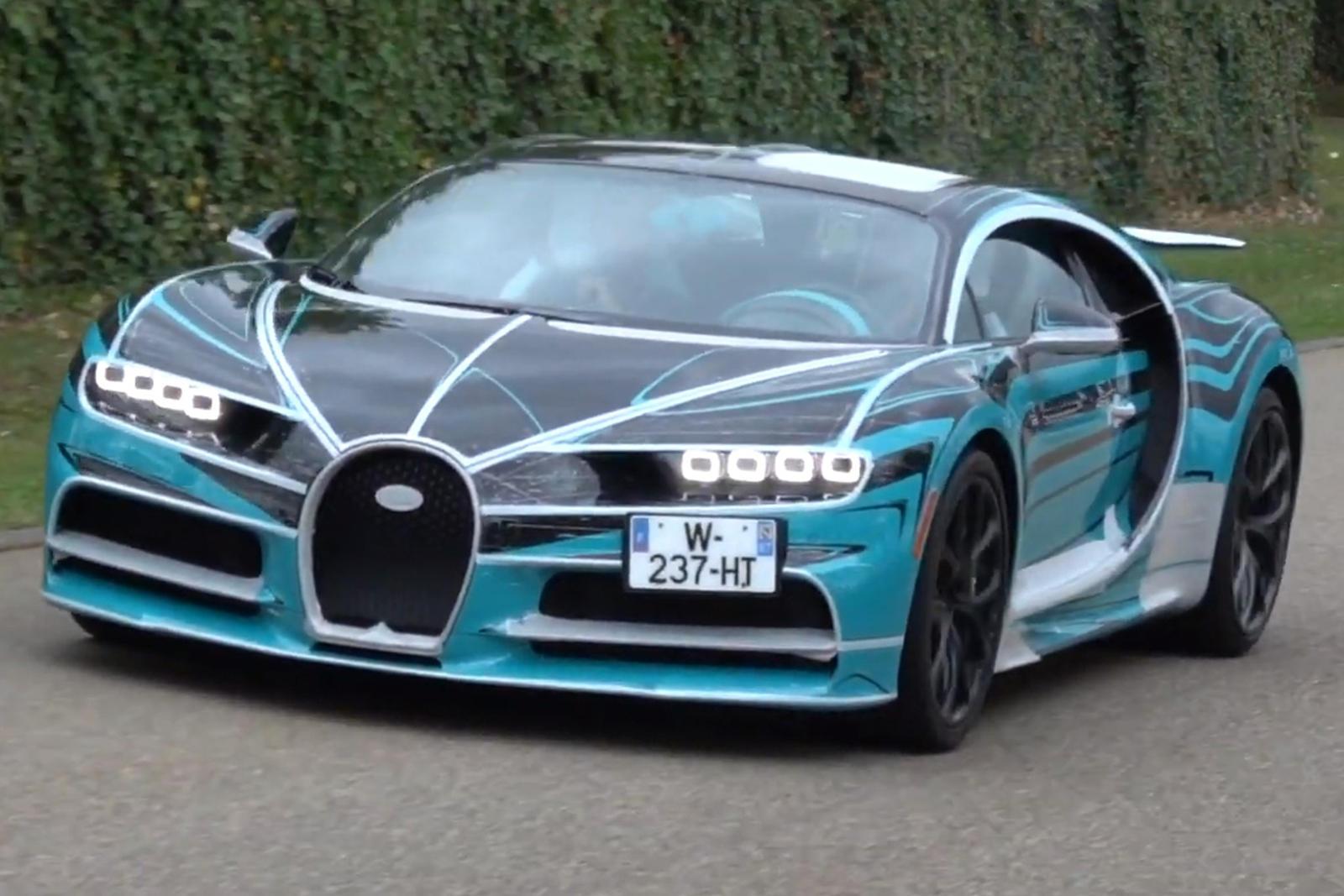 Bugatti Caught Testing A Secret Version Of The Chiron Carbuzz