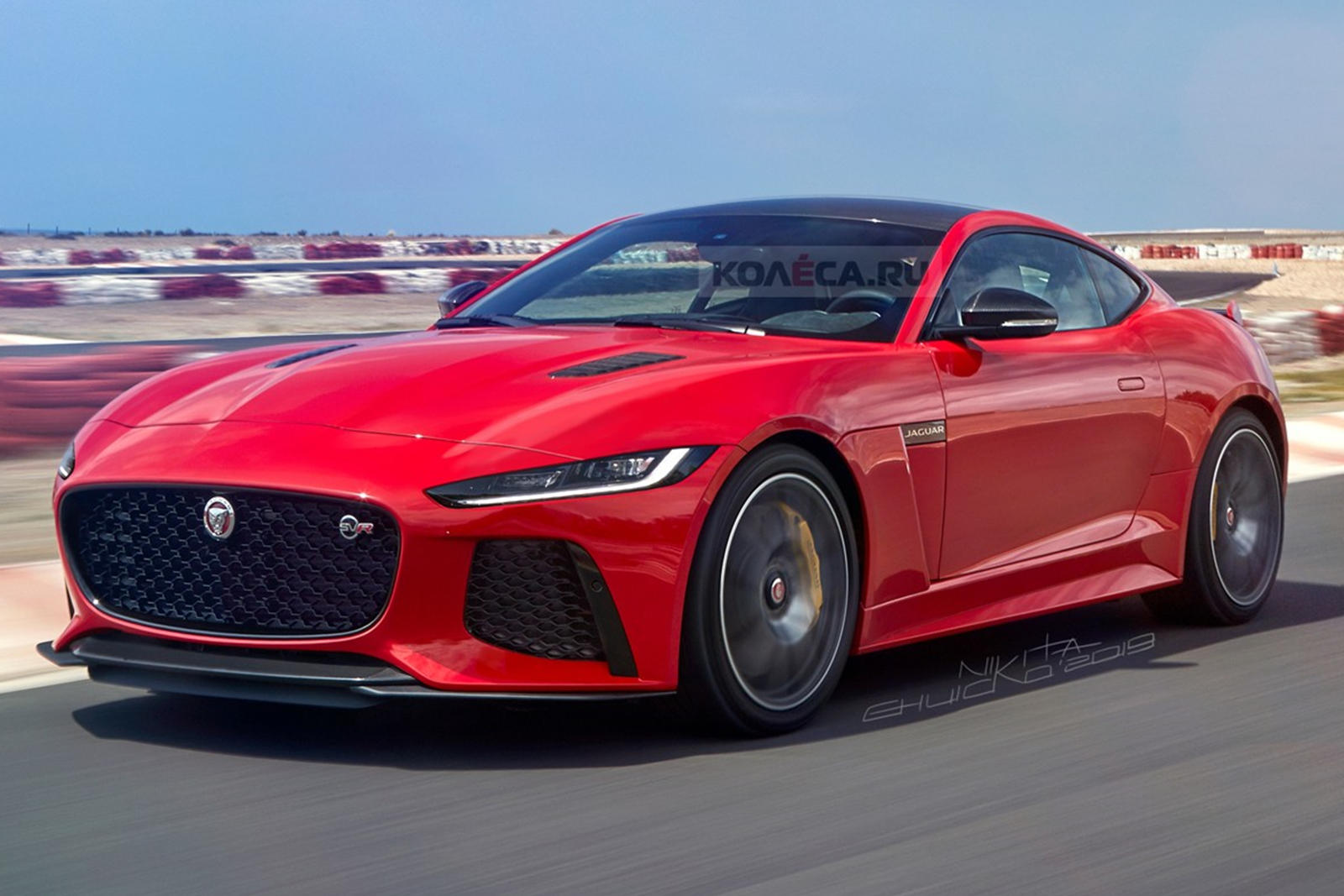 The New Jaguar F Type Will Look Like This Carbuzz