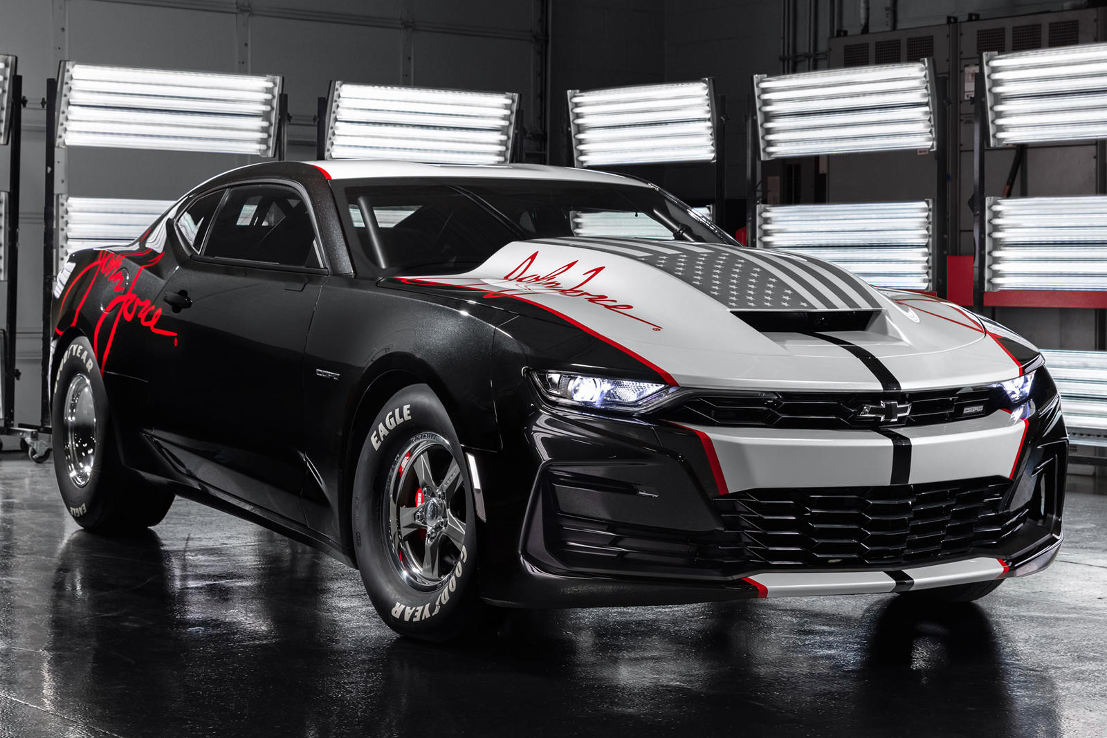 2020 COPO Camaro John Force Edition Heads Chevy's Muscle ...