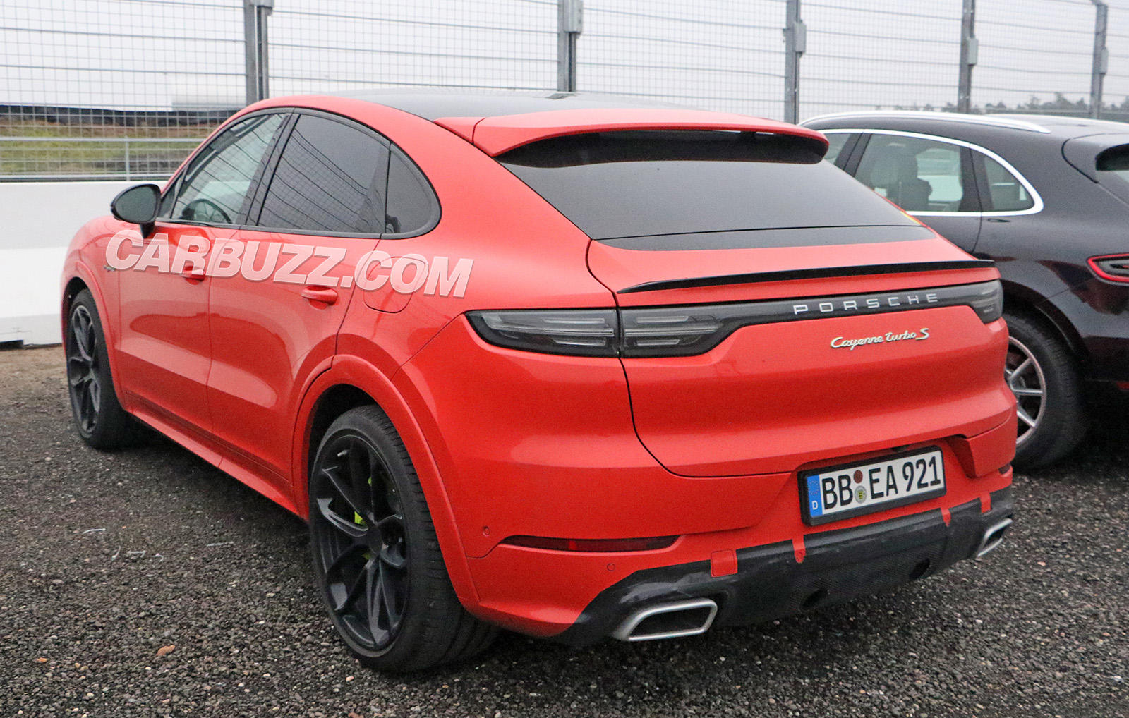 Is Porsche Cooking Up A Hot Cayenne Coupe Rs Carbuzz