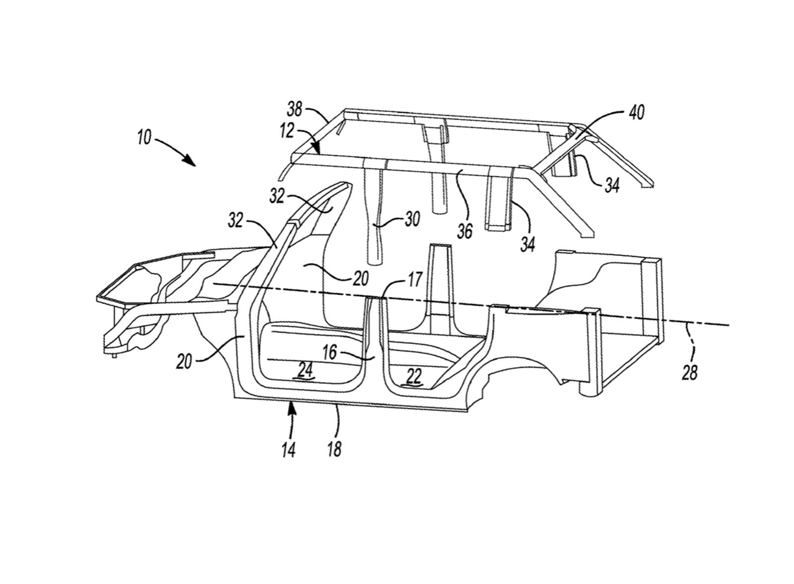 ford bronco could get fully removable roof