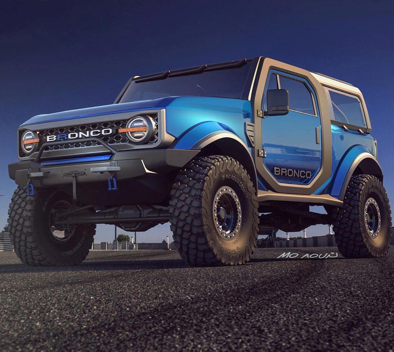 Would You Be Happy If The New Ford Bronco Looks Like This