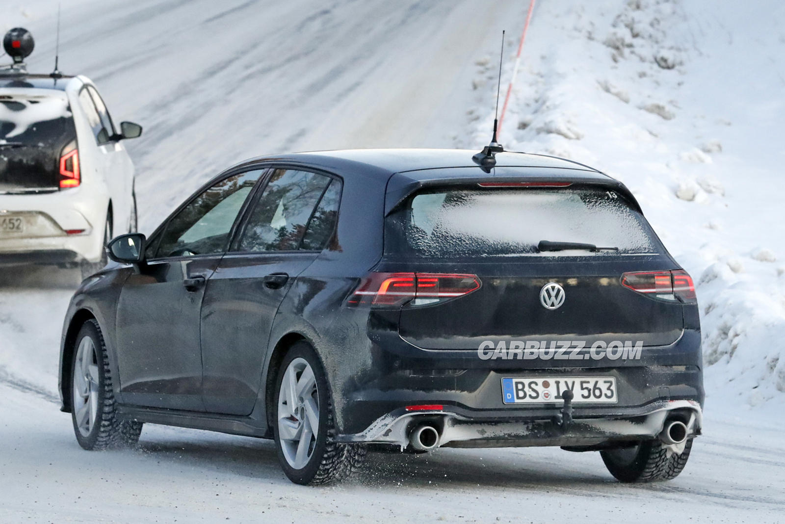 All-New Volkswagen Golf MKVIII Is Nabbed In The Nude