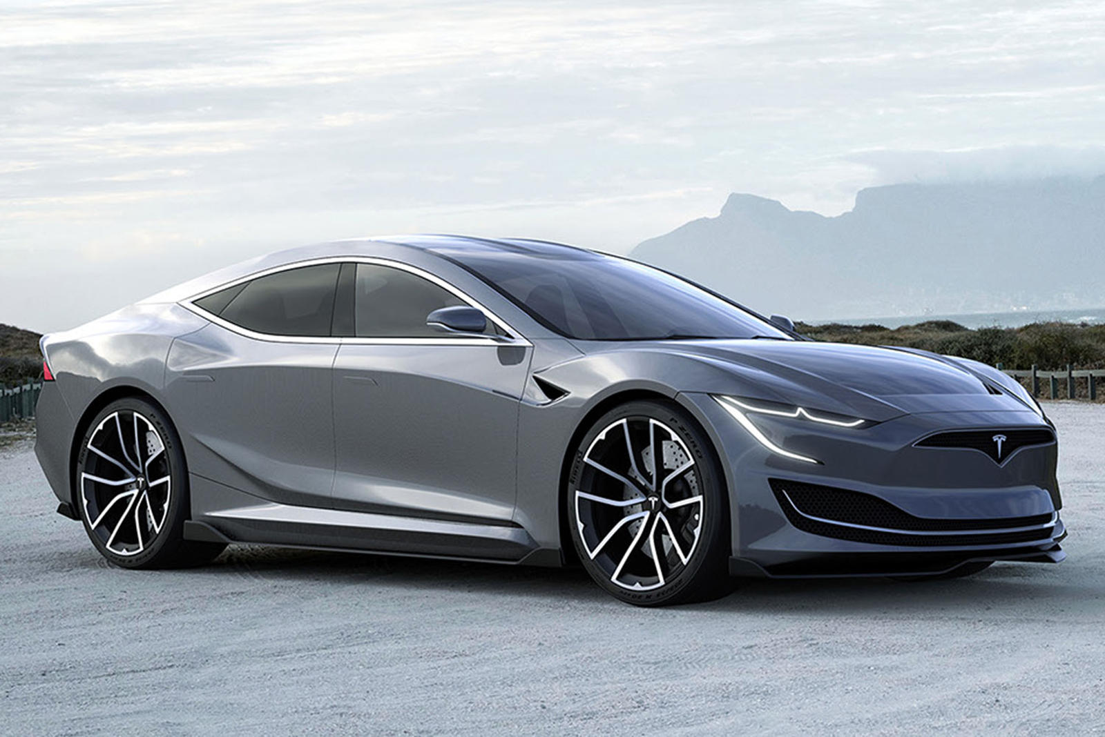 All-New Tesla Model S Could Look Like This | CarBuzz