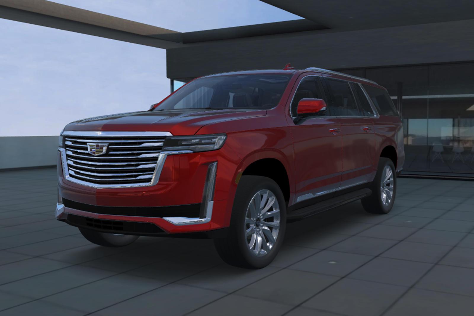 2021 Cadillac Escalade ESV Trims & Specs | CarBuzz