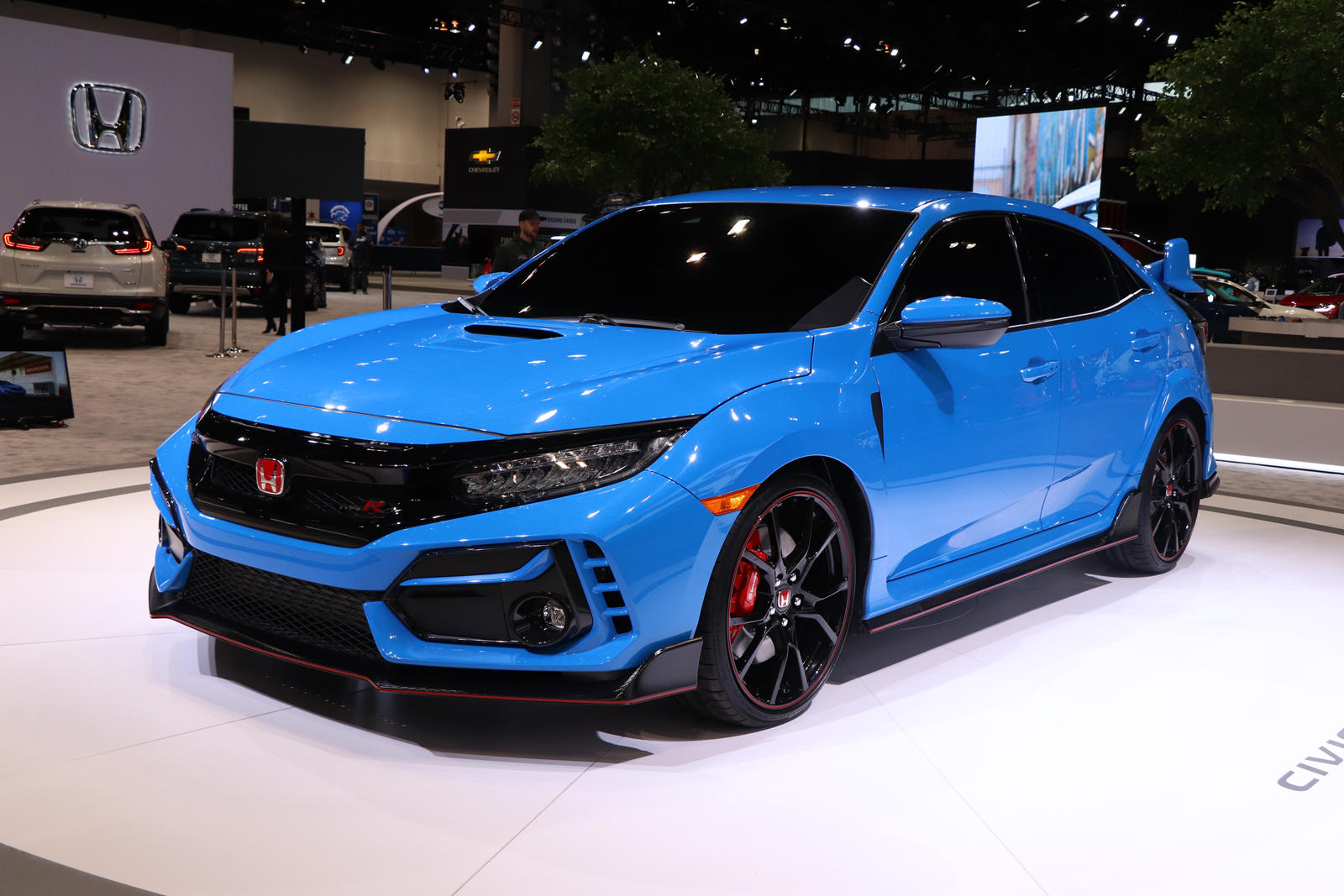 2020 Honda Civic Type R Arrives In Chicago With Outrageous New Color Carbuzz
